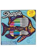 Комплект Sharpie - 28 броя маркери