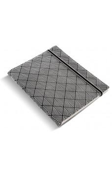 Тефтер Filofax A5 Notebook Impressions Black&White Deco