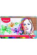 Акварелни моливи Maped - Artist, 36 цвята (метална кутия)