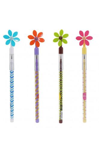 Молив Flower Windmill, секционен
