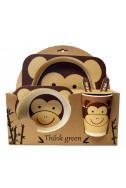 Еко комплект за хранене - Маймунка