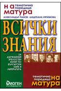 Всички знания за ДЗИ по български език и литература