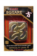 Cast Puzzle Square - level 6