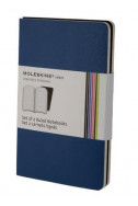 Set of 2 Volant Notebooks Ruled - Blue - Extra Small
