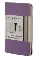 Set of 2 Volant Notebooks Ruled - Purple - Extra Small