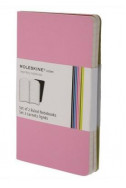 Set of 2 Volant Notebooks Ruled - Pink - Extra Small