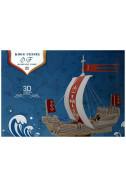 Кораб на Съюза Ханза – 96 части. Kogg Uessel Hanseatic Union