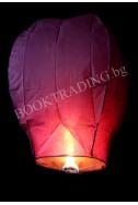 Летящ фенер премиум - лилав