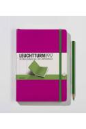 Бележник Leuchtturm 1917 Medium A5, Plain, Pink 343154