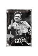 Метална табела Cash