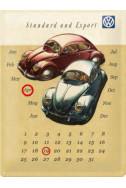 Метален вечен календар Der Volkswagen