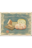 Магнит Fromages du Rhone