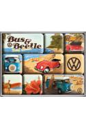 Комплект магнити VW Bus & Beetle