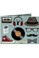 Портмоне Slim Wallet 6 Hipster