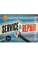 Метална табела Service & Repair