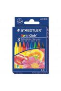 Пастели Staedtler Noris Club 220 - 8 цвята