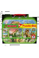 Puzzle Box Dinos 4 Puzzles