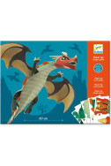 Направи сам Djeco - Гигантски дракон