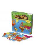 Пъзел карта на света. Geo Puzzle World