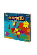 Пъзел карта на Европа. Geo Puzzle Europe