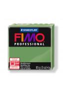 Полимерна глина Fimo Professional т. зелена