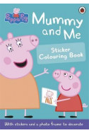 Mummy and Me Sticker Colouring Book