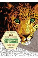 100 загадъчни картини - оцветяване по номера