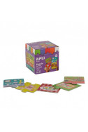 Образователен детски пъзел Предметите в къщи,  24 елемента, 12 теми