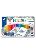 Цветни моливи Staedtler JB Ergosoft метална кутия - 36 цв.