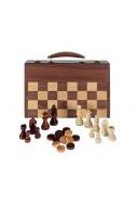 Комплект за шах, дама и табла