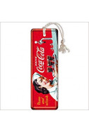 Метален книгоразделител Coca-Cola - Pause and Refresh