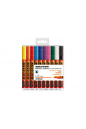 Molotow One4All Acrylic Marker - 127Hs 2Mm - Basic Set 1 - 10 Colours