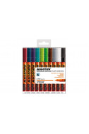 Molotow One4All Acrylic Marker - 127Hs 2Mm - Basic Set 2 - 10 Colours