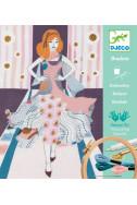 Картини за бродиране Djeco - Седмица на модата