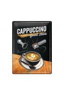 Метална табела Cappuccino
