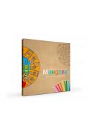 Мандала комплект за оцветяване за деца