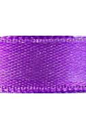 Панделка от сатен - лилава, 10 мм, 4.5 м