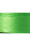 Панделка от сатен - неоново зелена, 10 мм, 4.5 м
