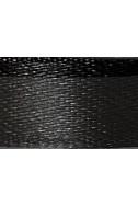Панделка от сатен - черна, 10 мм, 4.5 м