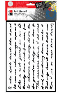 Арт шаблон Marabu - Писмо