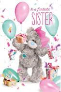 3D Картичка за Рожден ден - Sister