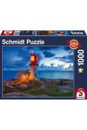 Пъзел Lighthouse At Twilight - 1000