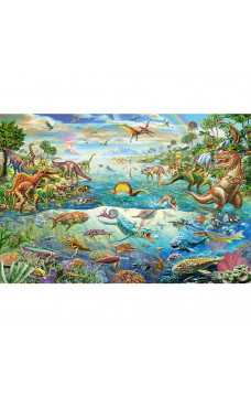 Пъзел Discover The Dinosaurs - 200