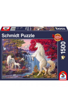 Пъзел Triumph Of The Unicorns - 1500