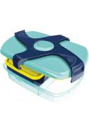 Кутия за храна Maped Concept Синьо-зелена