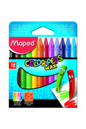 Пастели Maped Color Peps - 12 цвята