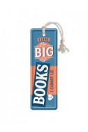 Метален книгоразделител I like Big Books