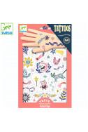 Детски светещи татуировки Djeco - Сладки мечти