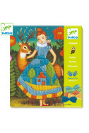 Дески комплект за бродиране Djeco - Dress