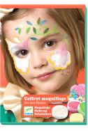 Комплект бои за лице и стикери Djeco - Феи